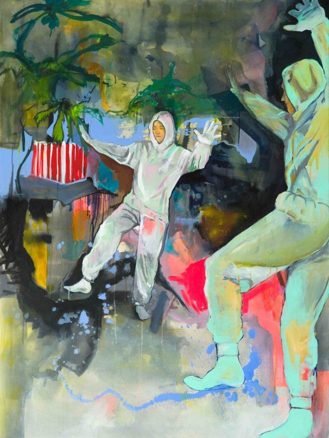 Julia Benz Give it a second (it´s going to space) 160 x 120 cm web