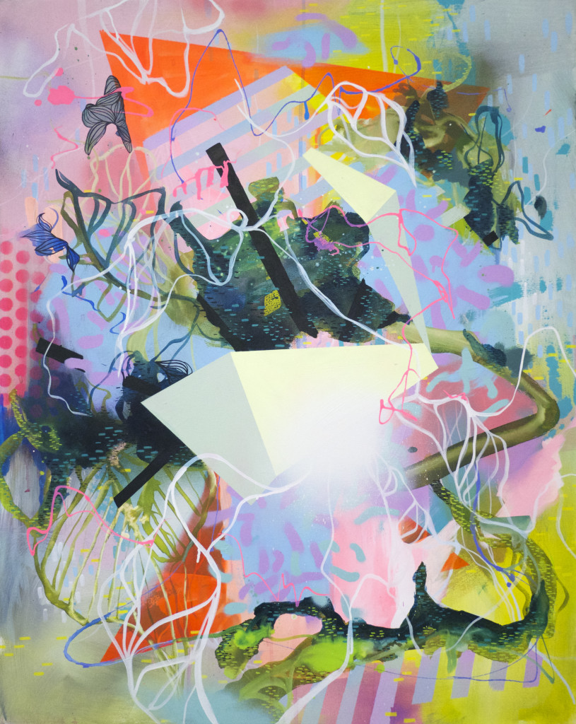 Julia Benz_Memory acrylic, ink, spray can on canvas 100x80cm 2017 LOW RES