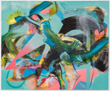 "Julia Benz-Catharsis- 2019- 100 cm x 120 cm (39.4""x47.2"")-acrylic, ink, aerosol on canvas-Low Res.jpg"
