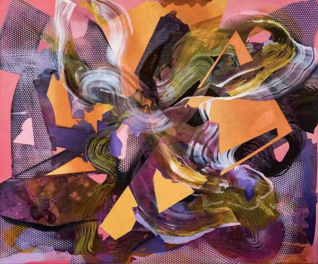 "julia benz-catharsis iii-2019-100 cm x 120 cm (39.4""x47.2"")-acrylic, ink, aerosol on canvas-web"