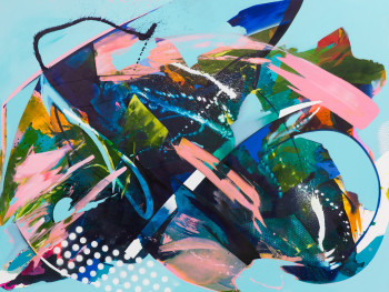 JuliaBenz_smooth operator_acrylic,ink,aerosol oncanvas,200x150cm,2020_loRes_001