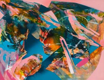 JuliaBenz_Pleasure_acrylic,ink,spraypaint on canvas_100cm x 130cm_2021_LoRes Kopie