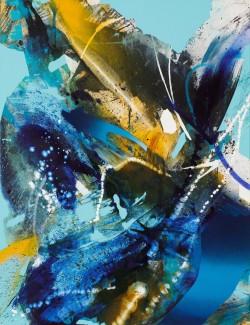 JuliaBenz_Warm Cold_acrylic,ink,spraypaint on canvas_130cm x 100cm_2021_LoRes Kopie