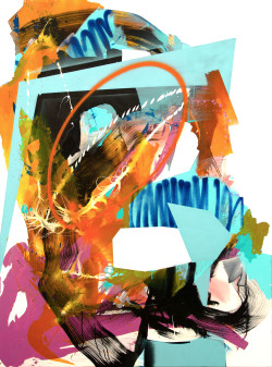 Sweet and Sweaty, 2019 Acryl, Ink, Aerosol on Canvas 160 x 120 cm, JB0195 5.600 €