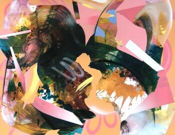 Julia Benz-Playground-2019-100 cm x 130 cm-acrylic, ink, aerosol on canvas-Low Res